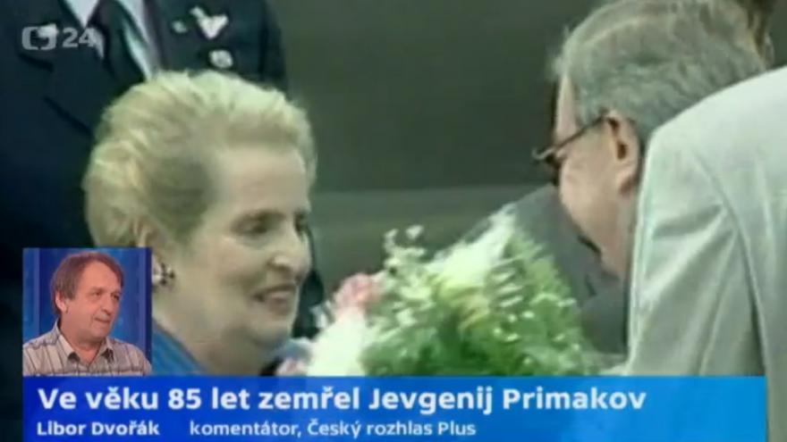 Video Libor Dvořák: Primakov vytvořil pocit stability