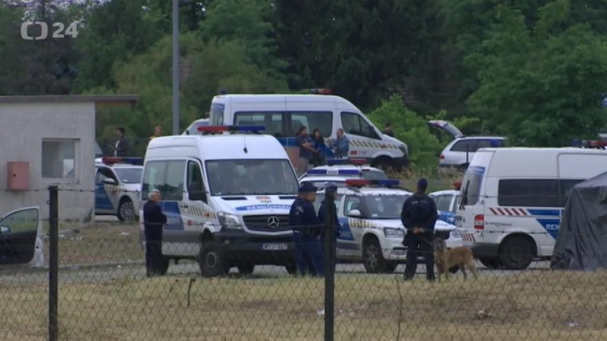 Video Události, komentáře: Maďarské trable s uprchlíky