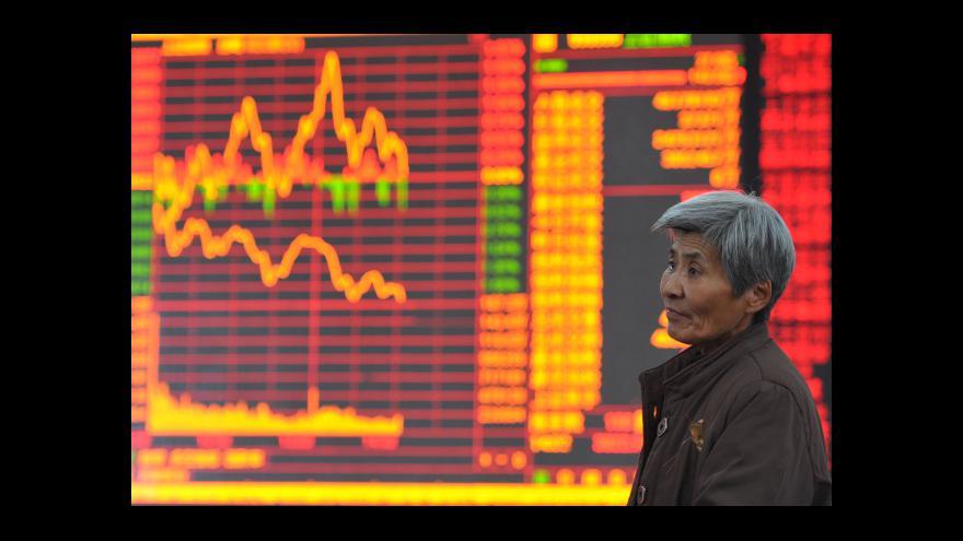 Video Investoři se ve velkém zbavují čínských akcií