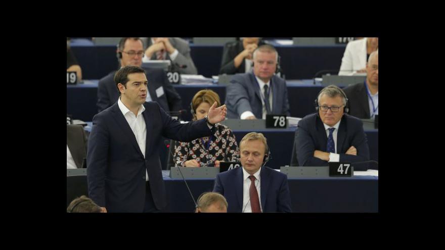 Video Tsipras: Eurozóna nedokázala vyřešit dluhovou krizi