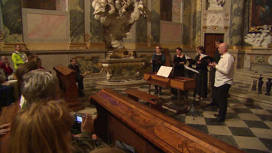 Video Bez komentáře: Barokní noc na zámku ve Valticích