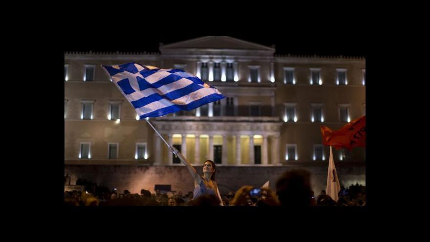 Video Horizont ČT24 k aktuálnímu dění v řecké krizi
