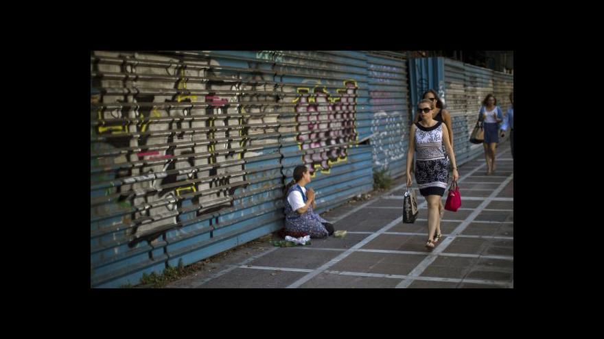 Video Redaktor ČT: Řekové si černý scénář nepřipouštějí