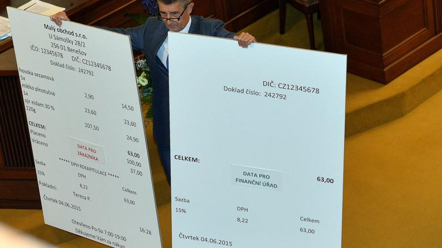 Video Opozice hrozí EET ústavní stížností