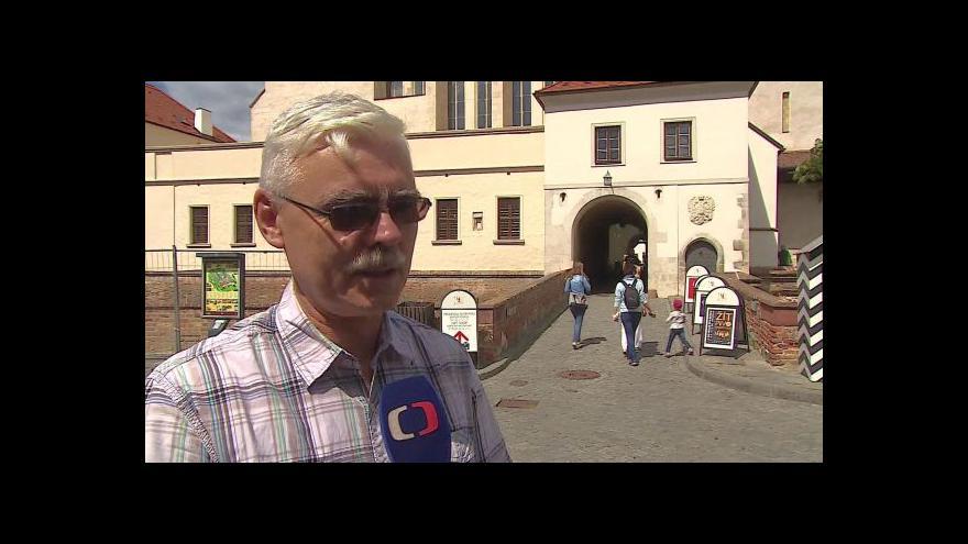 Video O zmařené dotaci hovoří ředitel muzea Pavel Ciprian