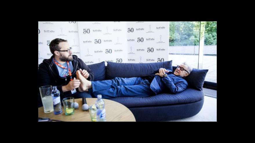 Video Harvey Keitel: Přemýšlím o plynutí času každý den