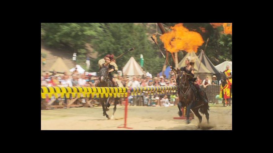 Video Jelení příkop zažil středověk