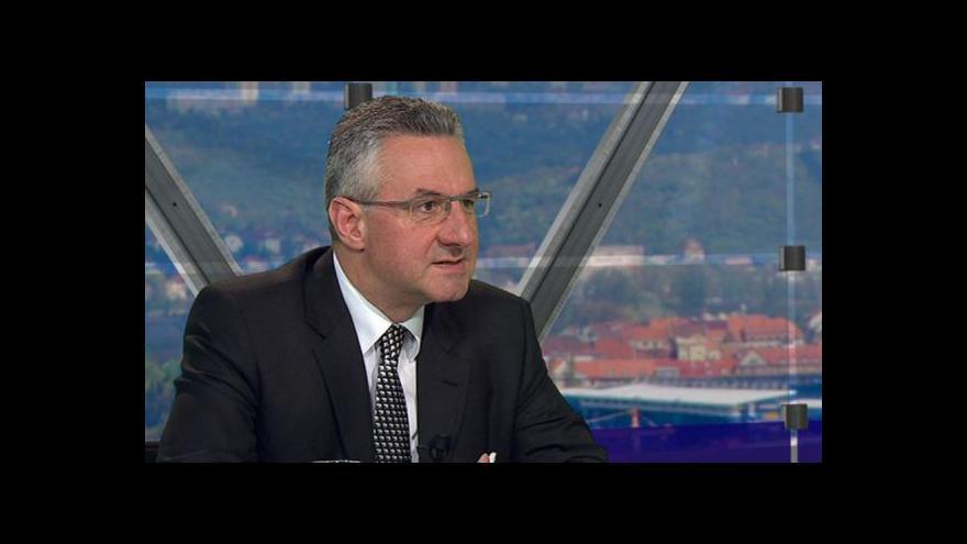 Video Jan Zahradil: Řecká krize se znovu objeví