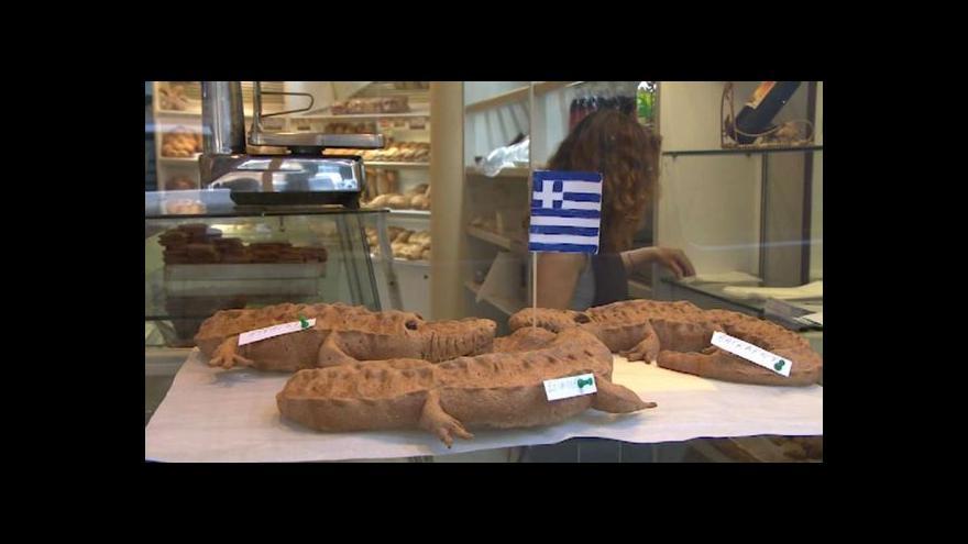 Video Řekové pečou věřitele