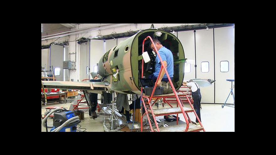Video Aero Vodochody chystá L-39 Nové Generace