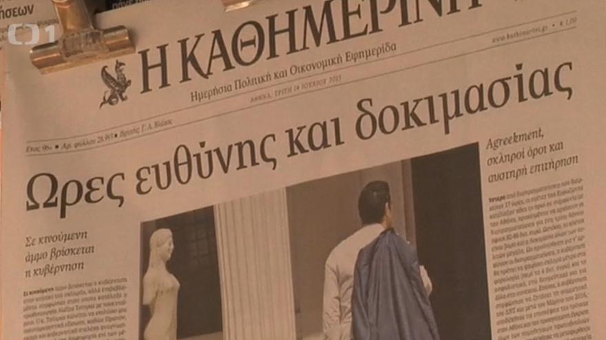 Video Řeckou vládu zřejmě podpoří i část opozice