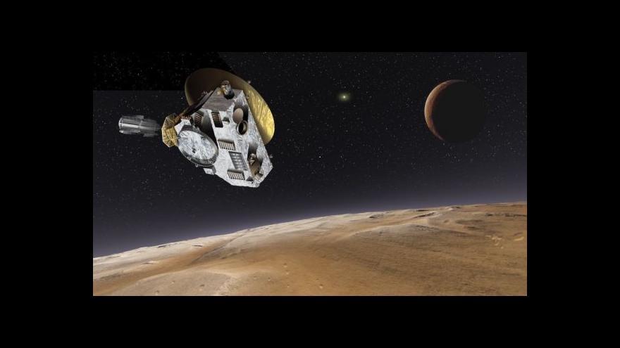 Video Záběry ze sondy blížící se k Plutu