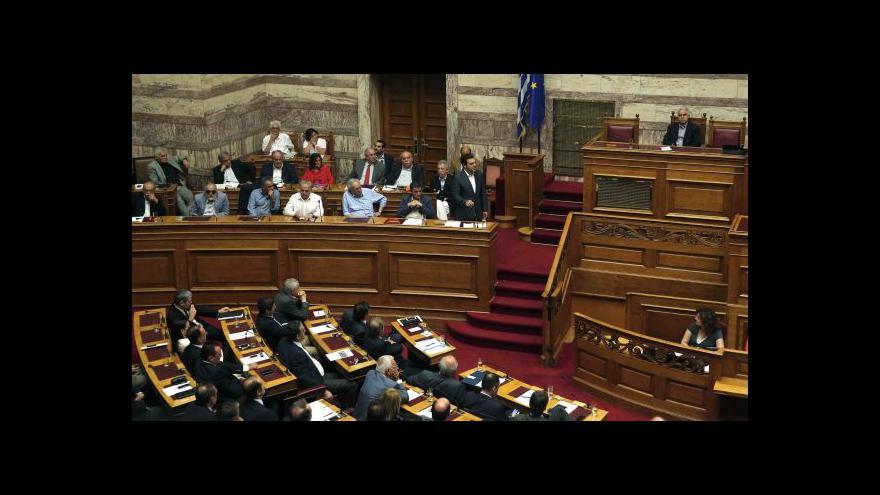 Video Řecký parlament schválil strukturální reformy