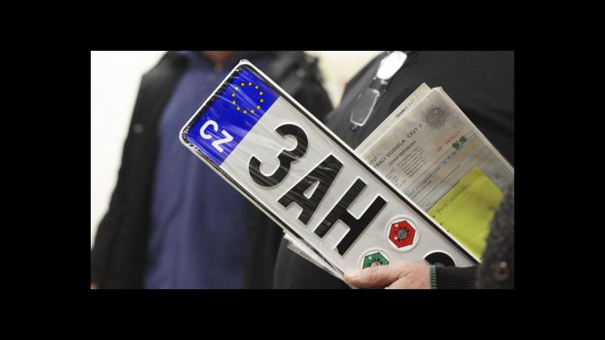 Video UDÁLOSTI: Výměna provozovatel registru vozidel drhne