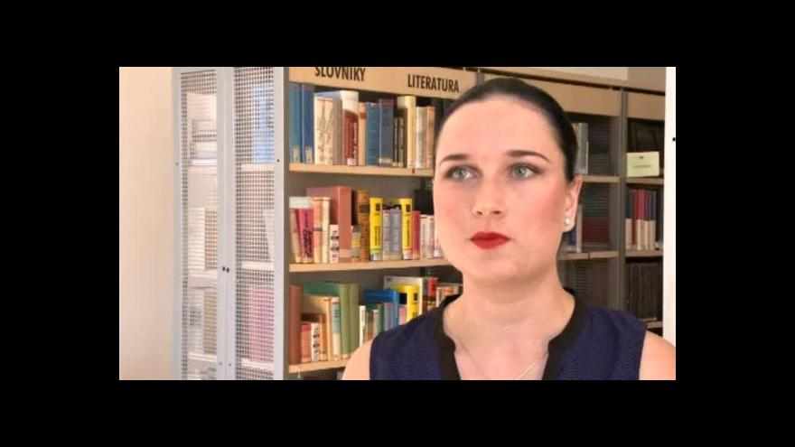 Video Alexandra Frajová z jihlavské knihovny o knižním trolejbusu