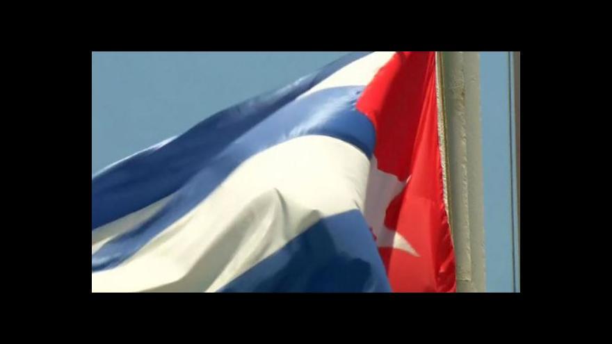 Video Kuba a USA otvírají ambasády