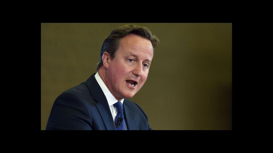 Video Cameronův projev ke strategii boje s extremismem