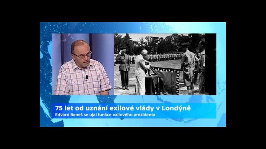 Video Studio 6: Sedmdesát pět let od uznání exilové vlády