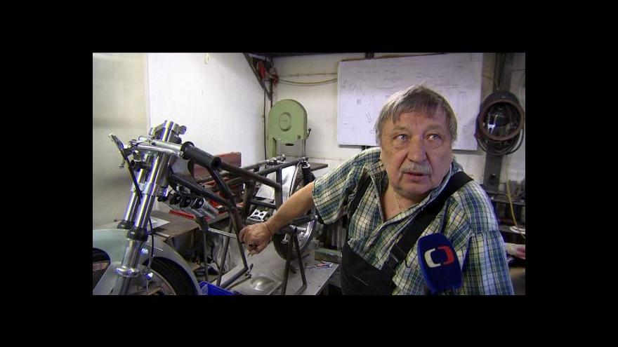 Video Legendy regionu: Motocyklový mistr světa a sběratel motorek