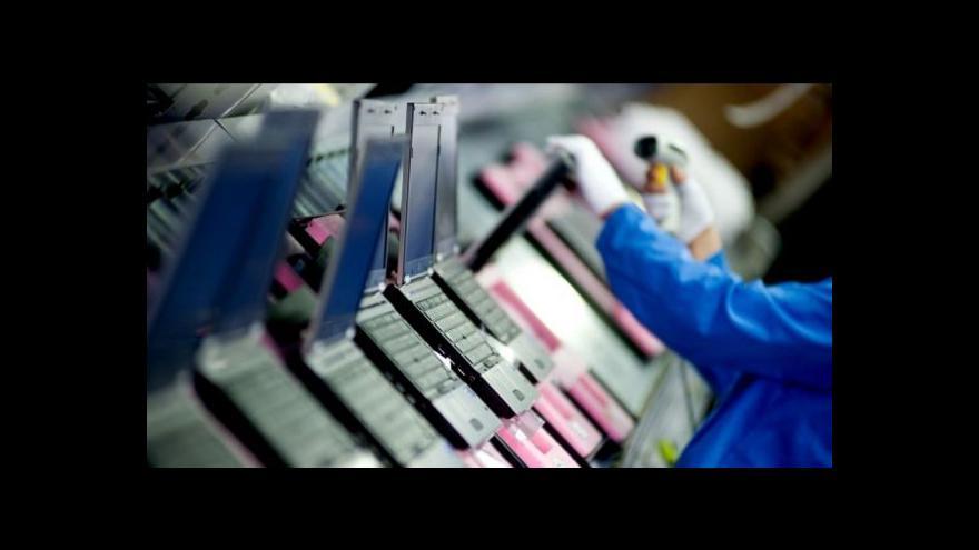 Video Foxconn plánuje v Česku investovat 2,5 miliardy korun