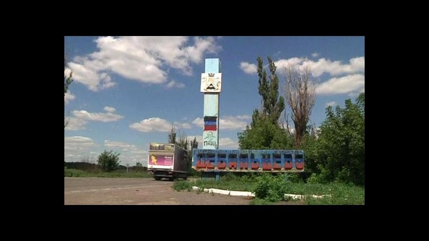 Video Obyvatelé Debalceve se vypořádávají se zkázou města