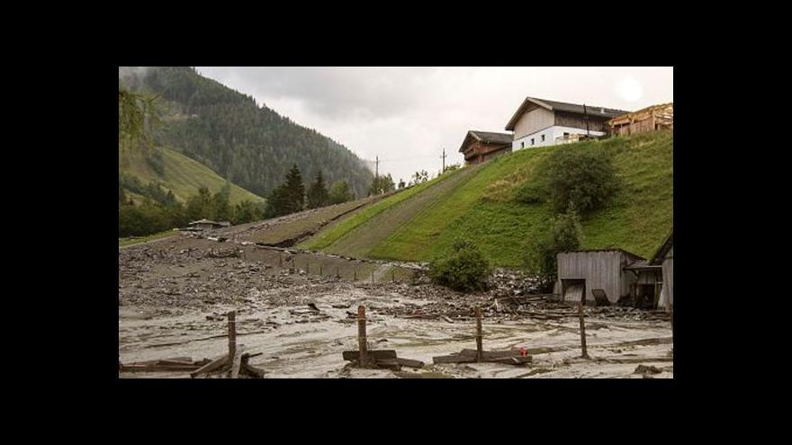 Video Následky bouřek v Rakousku