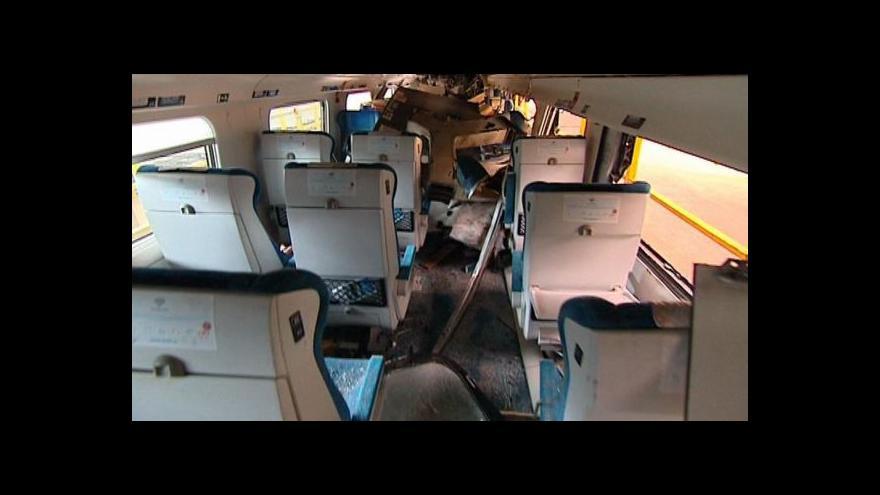 Video UDÁLOSTI: Řidič kamionu je ve vazbě, pendolino čeká na prohlídku
