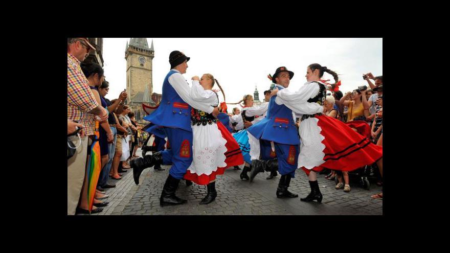 Video Pražské folklorní dny jsou v plném proudu