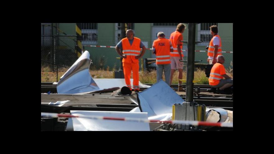 Video Vedoucí provozu depa: Největší škody způsobil návěs s plechy