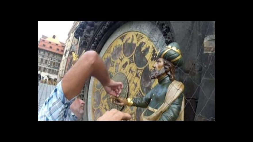 Video Záběry GoPro: Stěhování soch pražského Orloje