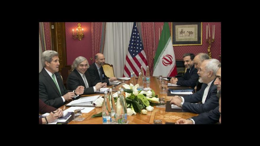 Video Jednání o íránském jádru spěje ke konci