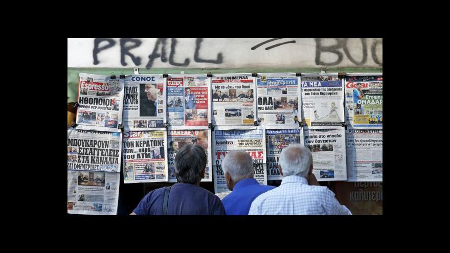 Video Dohoda eurozóny s Řeckem