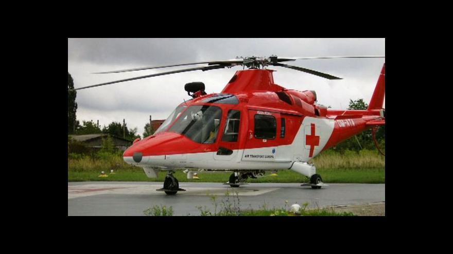 Video Na Slovensku se zřítil záchranářský vrtulník