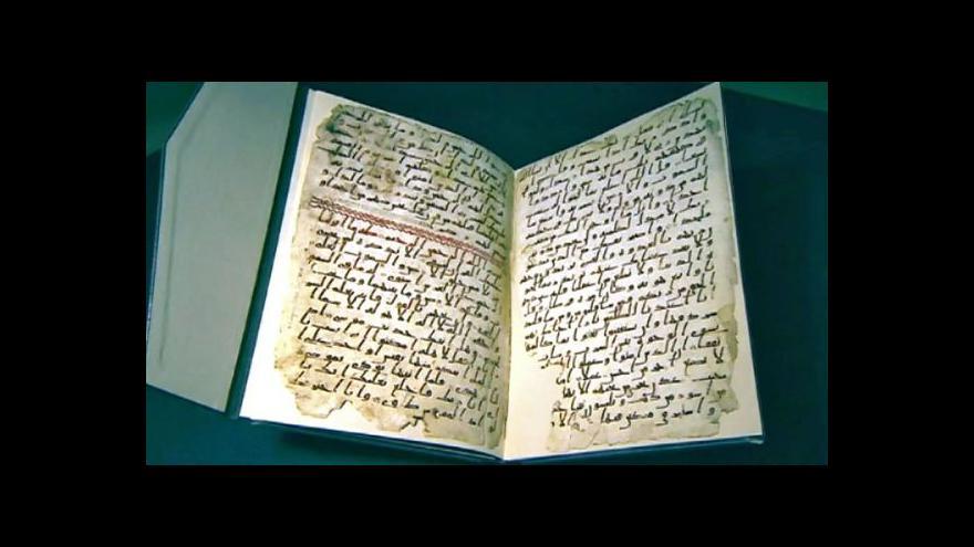 Video V Birminghamu objevili nejstarší fragment Koránu