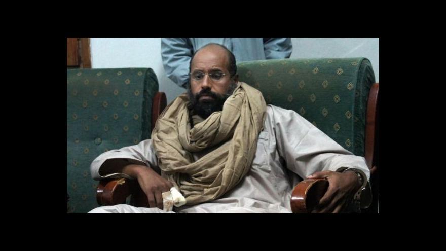 Video Události: Kaddáfího syn dostal nejvyšší trest