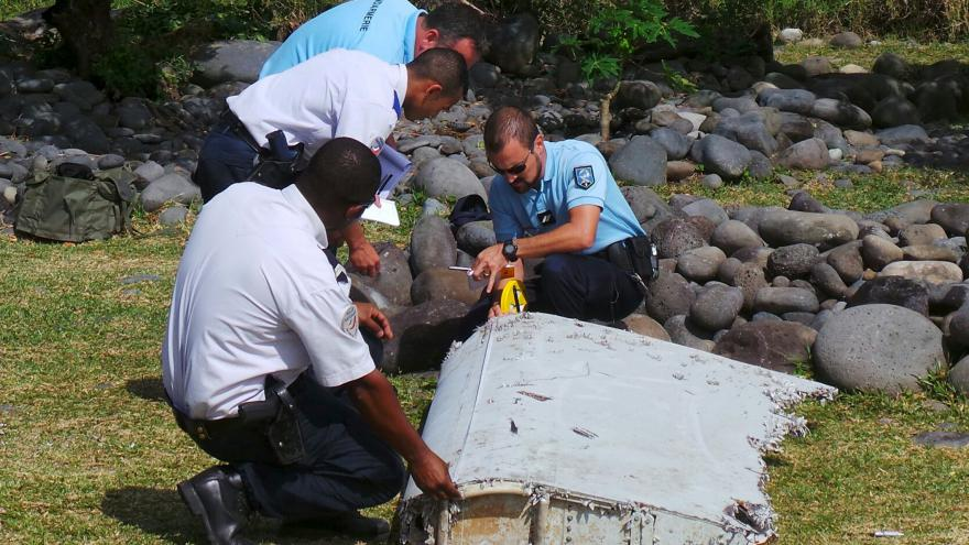 Video Kapitán k nálezu trosek u Réunionu