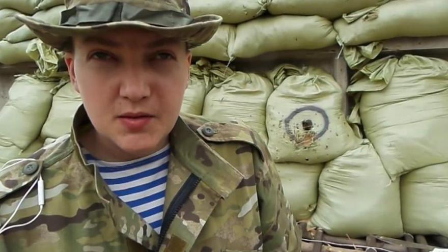 Video Savčenková čelí obvinění z vraždy ruských novinářů