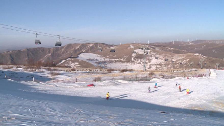 Video Zima v Čang-ťia-kchou: Dva měsíce bez přírodního sněhu