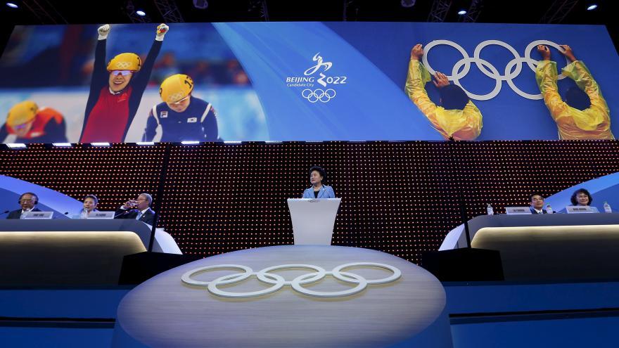 Video OH 2022: Čína slaví, lidskoprávní organizace varují