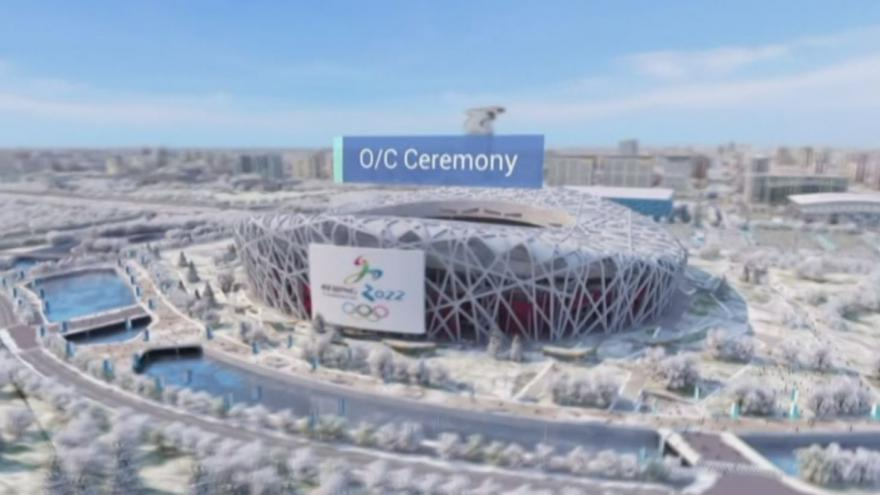 Video Představení Pekingu jako pořadatelského města OH 2022