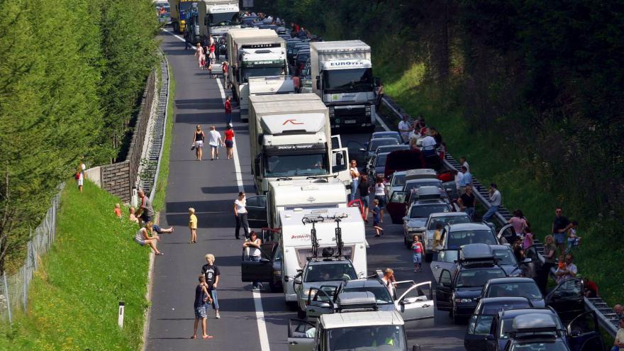 Video Speciál ČT24: Dopravní kolaps v Evropě