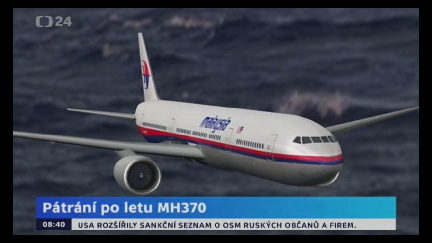 Video Animace k letu MH370