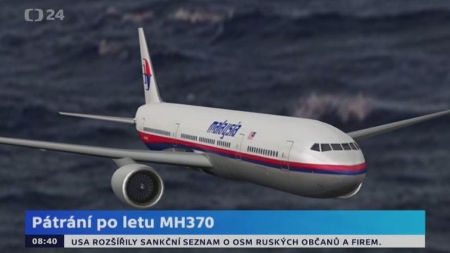 Video Animace k letu MH370
