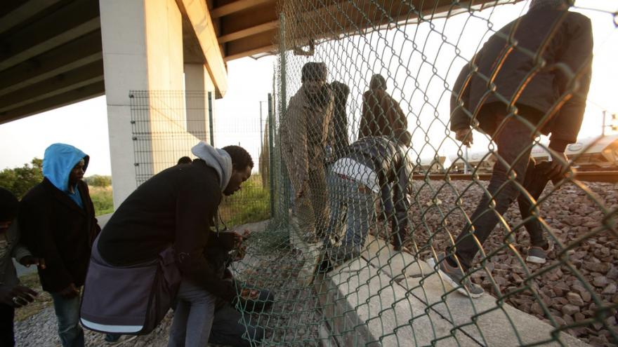 Video Drama v Calais pohledem kamery ČT