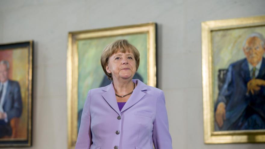Video Merkelová