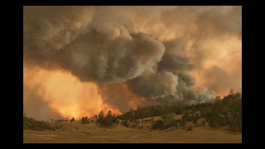 Video Oheň řádí i ve světě
