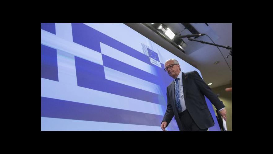 Video Juncker: Na tahu jsou nyní Atény