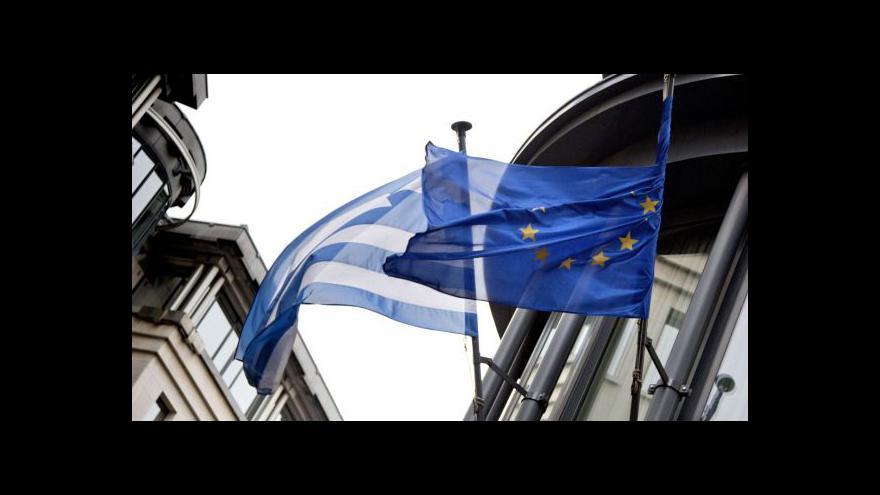 Video Eurozóna bude znovu jednat o řeckém dluhu