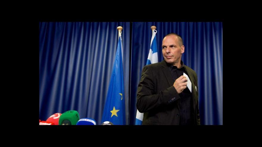Video Varufakis obvinil věřitele z terorismu, prý rozsévají strach