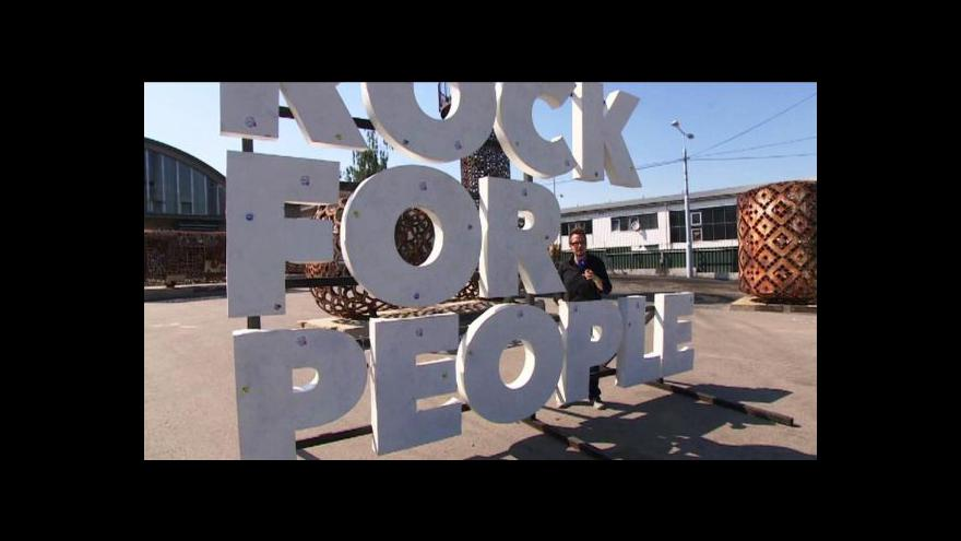 Video Rock for People - podruhé, evropsky a pro Plzeň